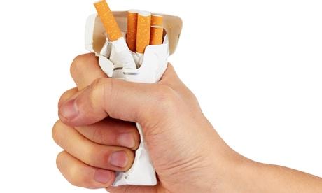 Sesión de hipnosis para dejar de fumar para uno o dos desde 49 € con 1 año de garantía