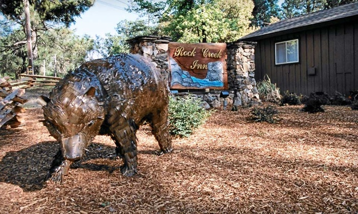 Rock Creek Inn - Georgetown: 1- or 2-Night Stay with a Flower Bouquet and Welcome Beverage at Rock Creek Inn in Georgetown, CA