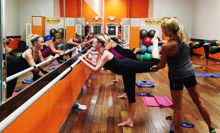 5 or 10 Barre, Pilates, and Yoga Classes at 1 Body Studio (Up to 51% Off)