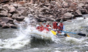 Colorado River Runs: Half-Day of Rafting for Two or Four from Colorado River Runs (Up to 35% Off)