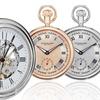 Stührling Original Stainless Steel Pocket Watches