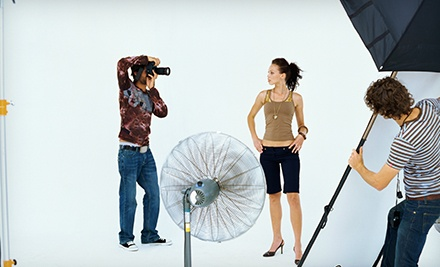 In-Studio Photo-Shoot with Prints at Press Talent Management & Development (Up to 80% Off). Three Options Available.