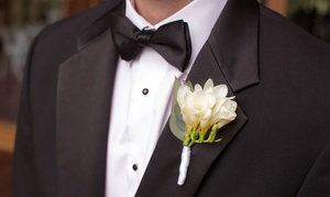 Valente's Formalwear: $125 for Any Style Tuxedo Rental With Shoes at Valente's Men's Formalwear ($250 Value)