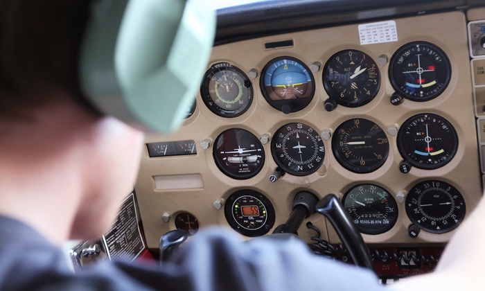 Seattle Pilot Academy - Georgetown: $150 for One-Hour Ground Instruction and 30-Minute Flight Lesson at Seattle Pilot Academy ($295 Value)