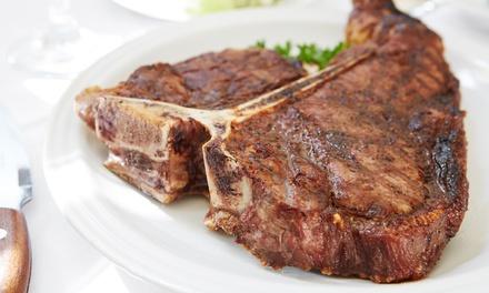 2 côtes de bœuf de 400 à 500 g avec frites et 2 desserts au choix sur la carte dès 35,90 € au restaurant OStaff