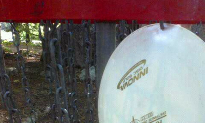 Dragon Field Disc Golf - Multiple Locations: Disc Golf for Two or Four and Disc Rental at Dragon Field Disc Golf (Half Off)