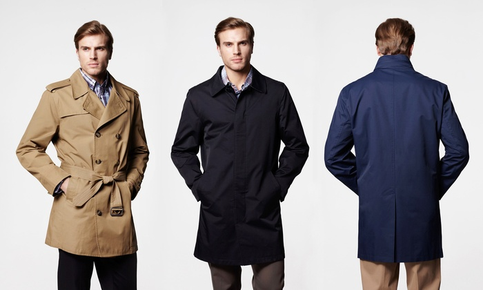 London Fog Men's Trench Coat or Raincoat | Groupon