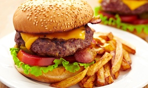 Fat Sat's Bar and Grill: $12 for $20 Worth of Casual American Cuisine and Drinks at Fat Sat's Bar and Grill