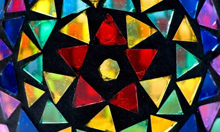 Ceramic Ornament Painting, Canvas Painting, or Stained-Glass Class at Tulsa Stained Glass (Up to 61% Off)