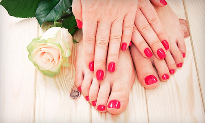 Beauty on Broadway Salon - Dunedin: Spa Pedicure with Optional Spa or Gel Polish Manicure at Beauty on Broadway Salon (Up to 53% Off)