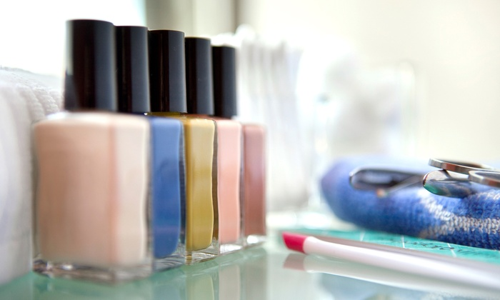 Nice Nails - Tempe: Deluxe Spa Pedicure with Optional Callus Removal at Nice Nails (50% Off)