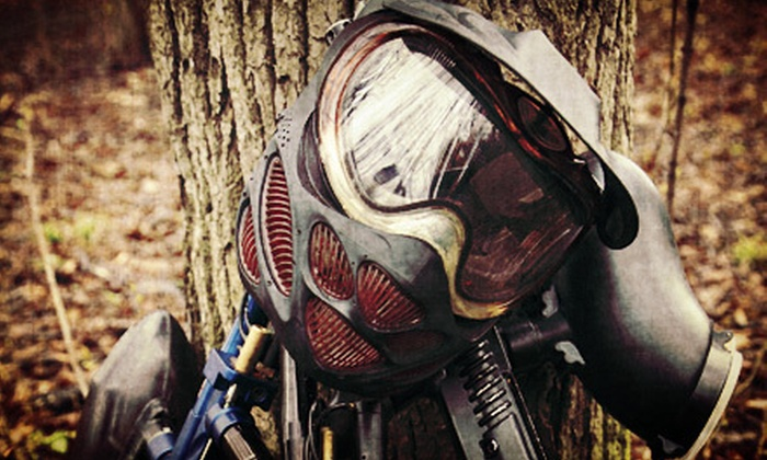Paintball Nation - Multiple Locations: $15 for a Weekend Paintballing for Two with Equipment and Paintballs at Paintball Nation (Up to $110.50 Value)