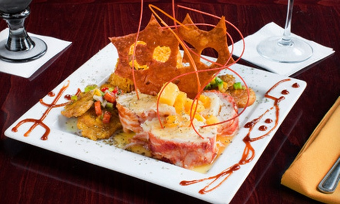 Coco Restaurant - Humboldt Park: Puerto Rican Dinner with Drinks for Two or Four at Coco Restaurant (Up to 63% Off)
