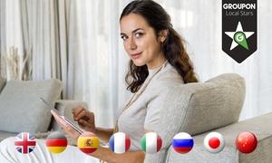 Multikurs: Od 39,90 zł: intensywny kurs językowy z certyfikatem i skuteczną nauką słówek na platformie Multikurs.pl – 9 języków