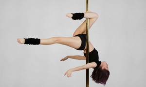 Allure Dance: Four or Eight Poles Classes, or One-Hour Party Package for up to 8 at Allure Dance (Up to 72% Off)