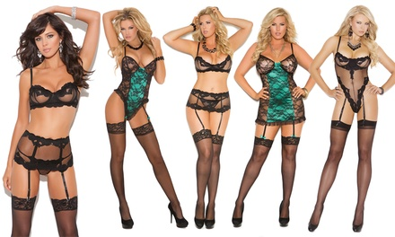 Elegant Moments Sexy Lingerie Collection in Regular and Plus Sizes