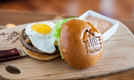 New American Food at Three Squares (43% Off)