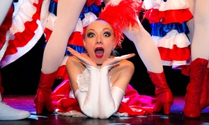 """L'Étincelle Cabaret: Déjeuner ou dîner-spectacle """"Départ imminent"""" pour 1 ou 2 personnes, option carré VIP dès 59,90 € à L'Étincelle Cabaret"""