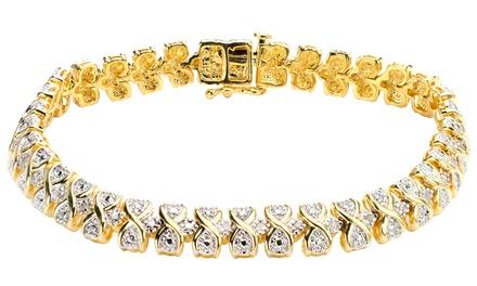 1/4 CTTW Diamond Tennis Bracelet