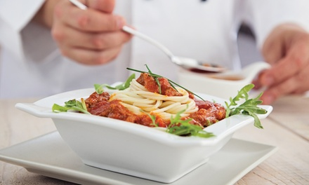 Italian Cuisine for Lunch or Dinner for Two at Villa Rosa Ristorante (Up to 50% Off). Four Options Available.
