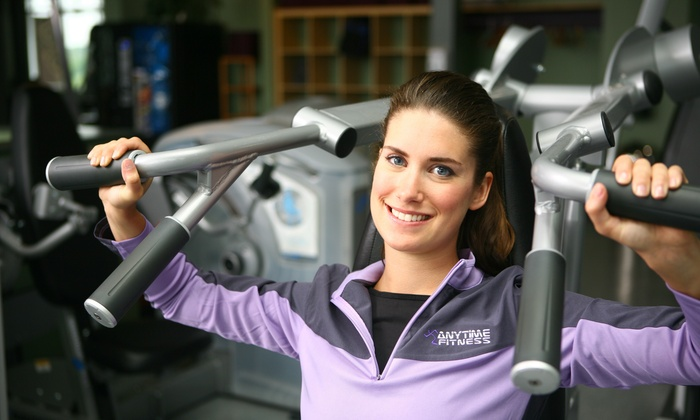 Anytime Fitness-Sacramento - Multiple Locations: Up to 54% Off 24Hr Access Gym Membership at Anytime Fitness-Sacramento