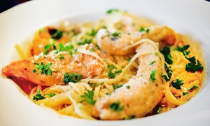 Brothers Taverna: Breakfast for Two or Comfort-Food Meal with Wine for Two or Four at Brothers Taverna (Up to 34% Off)