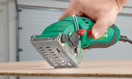 Work Expert Electric Safety Handheld Saw with Two Blades for £32.99 With Free Delivery (59% Off)
