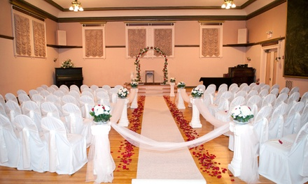 $3,800 for an All-Inclusive Wedding Package at Mohegan Manor ($7,200 Value)