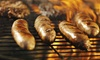 Flicker Meat Company - White Bear Lake: Backyard Griller Pack or Homemade Jerky and Sticks Package at Flicker Meat Company (Up to 41% Off)