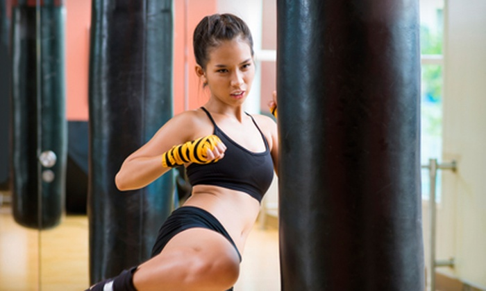 Elite Freestyle Karate - Multiple Locations: 5 or 10 Kickboxing Classes at Elite Freestyle Karate (Up to 81% Off)
