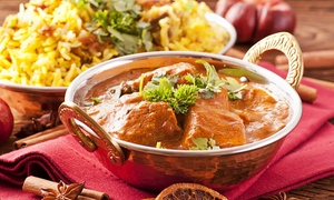Indiagates: Two-Course Meal With Drink For Two or Four from £17 at India Gates