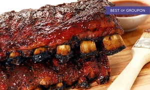 MoMo's BBQ & Grill: Barbecue for Two or Four at MoMo's BBQ & Grill (Up to 46% Off)