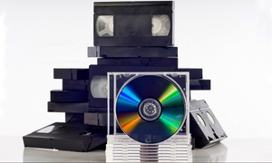 Denevi Digital Imaging: Media Transfers to DVD or Digital File at Denevi Digital Imaging (Up to 84% Off). Four Options Available.