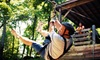 Wahoo Zip Lines (OLD) - 10: Skybridge and Zipline Adventure for One or Two from Wahoo Ziplines (52% Off)