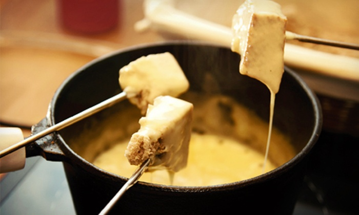 La Fondue - Saratoga: $135 for a Fondue Experience and Bottle of Domaine Ste. Michelle for Two at La Fondue ($325 Value)