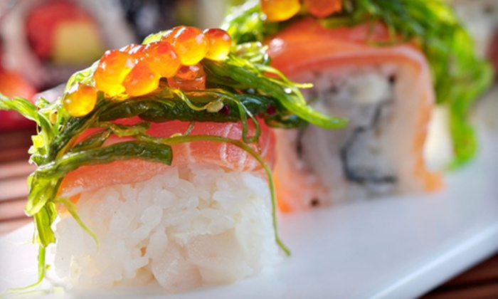 Sakura - Lee's Summit: Sushi and Asian Cuisine at Sakura (Half Off). Two Options Available.