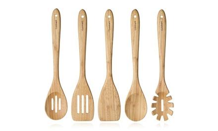Cuisinart 5-Piece Bamboo Utensil Set