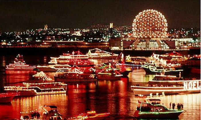 Pride of Vancouver Charters - Vancouver: $39 for a Carol Ships Dinner Cruise from Pride of Vancouver Charters ($79.95 Value)