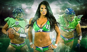 Legends Football League: Legends Football League Game for One or Four at ShoWare Center on Friday, July 3, at 8 p.m. (Up to 41% Off)