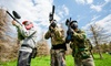 51% Off a Paintball Package with Food