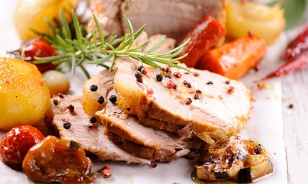 Sunday Roast for Two or Four at Stuart's Restaurant at The Lovat
