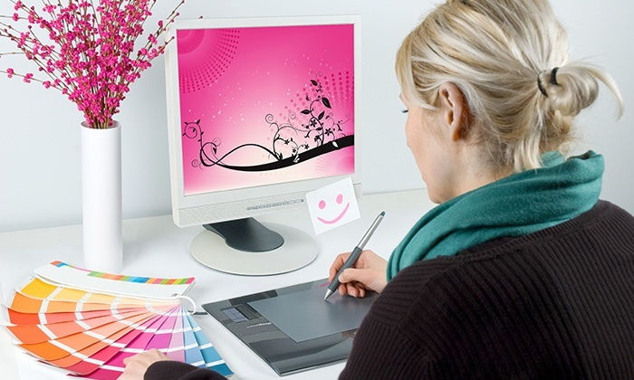 Pink Zebra: Logo- or Website Graphic-Design Package from Pink Zebra (Up to 96% Off). Five Options Available.