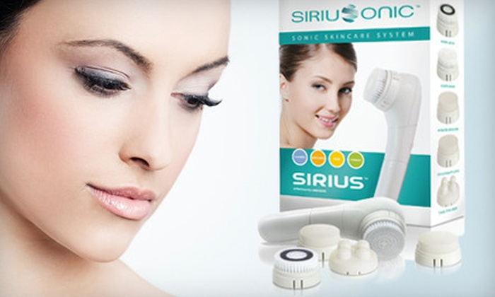 Sirius Beauty Sonic Skincare System: $27 for a Sirius Beauty Sonic Skincare System with Exfoliating Brushes ($49 List Price). Free Shipping and Returns.