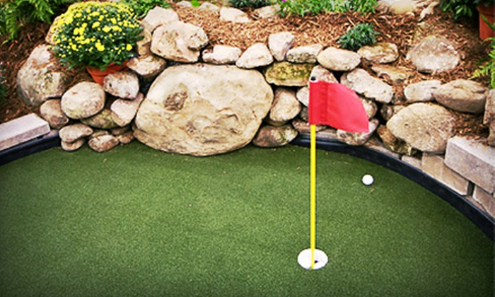 Golf Country - Multiple Locations: Round of Mini Golf for Four with Optional Range Balls at Golf Country (Up to 48% Off)