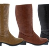 Shoes of Soul Women's Textured Boots