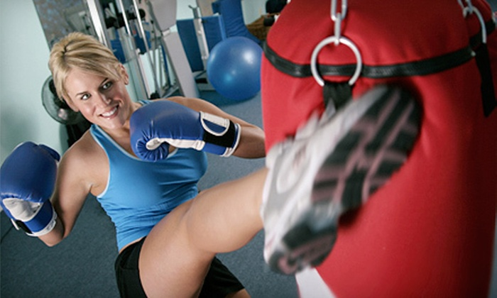 Lions Kickboxing Fitness - Sunset: 6 or 12 Kick-Boxing Classes at Lions Kickboxing Fitness (Up to 65% Off)