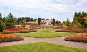 Oregon Garden Resort: Stay with Optional Dining or Spa Credit at Oregon Garden Resort in Silverton, OR; Dates into December