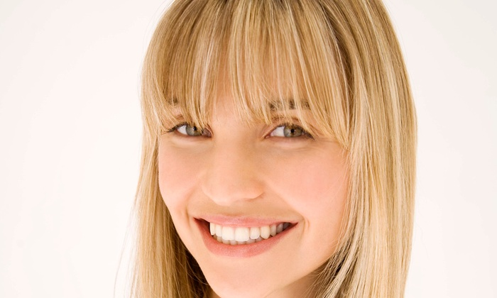 Joy Shippey at Sirenas Spa - Arnold: Haircut with Choice of Conditioning or Color Service from Joy Shippey at Sirenas Spa (55% Off)