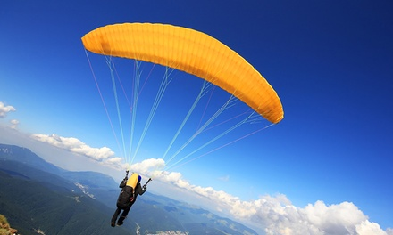 $165 for a One-Hour Tandem Paragliding Experience for One at Chicago Paragliding ($300 Value)