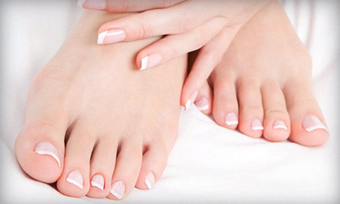 Hairdressers Inc - Acworth-Kennesaw: One or Three 60-Minute Deluxe Spa Mani-Pedis at Hairdressers Inc (Up to 63% Off)